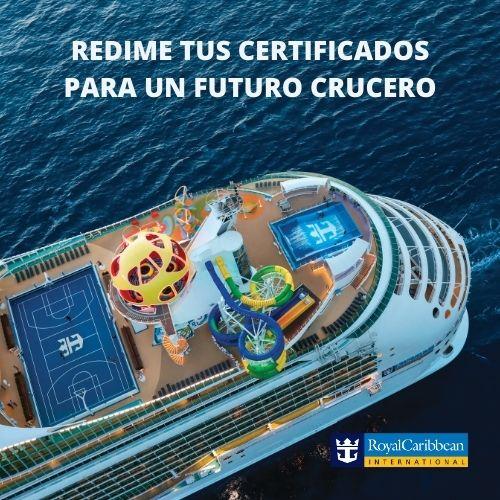 Tengo un bono o crédito para un futuro crucero ¿Cómo lo uso?