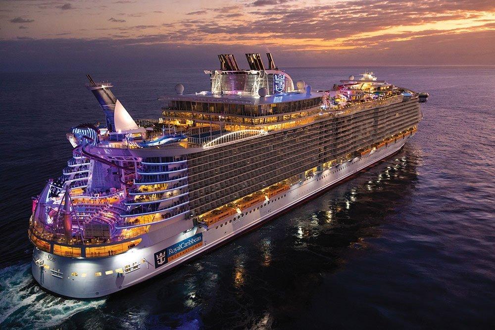¿Cómo es viajar en el barco más grande del mundo?